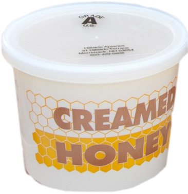 Creamed Wildflower Honey In A 1 Lb Container