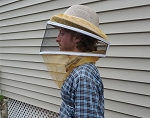 Ventilated Mesh Round Beekeeping Veil