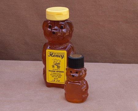 All Natural Honey In 2 Oz Bear Container