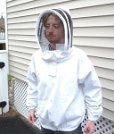Hive Maintenance Jacket with Fencing Style Veil/ 25% off in June!  In stock only!