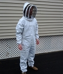 Complete Hive Maintenance Suit with Fencing Style Veil