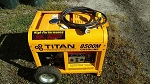 Titan 8500M Industrial Generator w/ Manual,  Slightly Used, Pickup Only