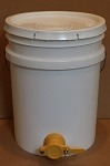 5-Gallon Plastic Honey Bucket w/ Honey Gate Valve