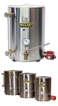 Maxant 600-2 200# Bottling Tank w/No Drip Valve, thru December 15th, special $25 off
